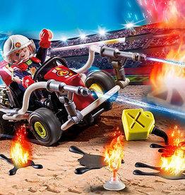 Playmobil 70554 Stuntshow Vehicule et pompier