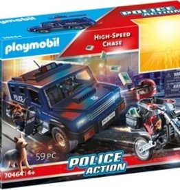 Playmobil 70464 Vehicule de police et moto