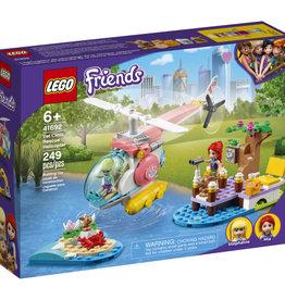 Lego Friends 41692 L'hélicoptère de sauvetage de la clinique vétérinaire