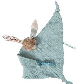 moulin roty Doudou Lange lapin - Les jolis trop beaux