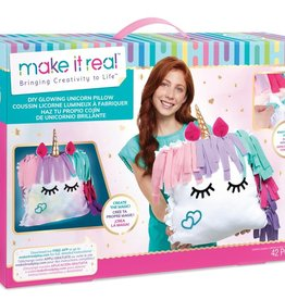 Make it real - Coussin licorne lumineux