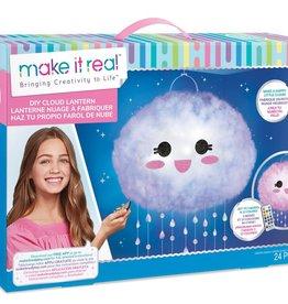 Make it real - Lanterne nuage à fabriquer