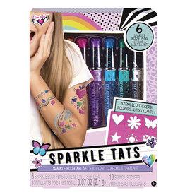 Fashion Angels - Sparkle Tats- Ensemble de tatoueur