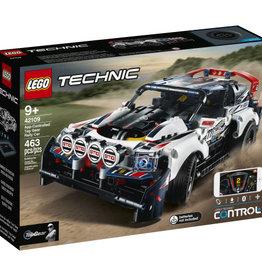 Lego Technic 42109 La voiture de rallye TopGear Radiocommandée par application