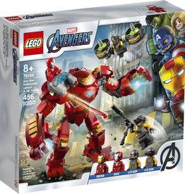Lego Marvel 76164 Iron Man Hulkbuster contre les agents de l'A.I.M.