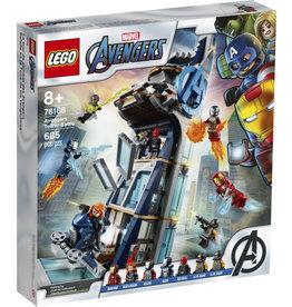 Lego Marvel 76166 La tour de combat des Avengers