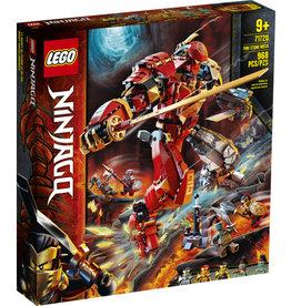 Lego Ninjago 71720 Le Robot de feu et de pierre