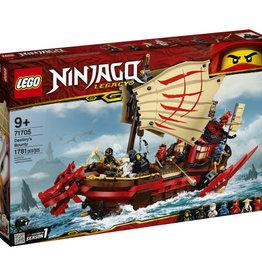 Lego Ninjago 71705 Le QG des ninjas