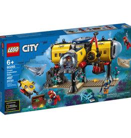 Lego City 60265 Base d'exploration océanique