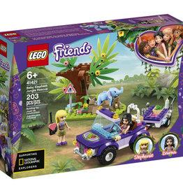 Lego Friends 41421 Sauvetage dans la jungle du Bébé Éléphant