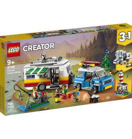 Lego Creator 31108 La roulotte vacances familiales
