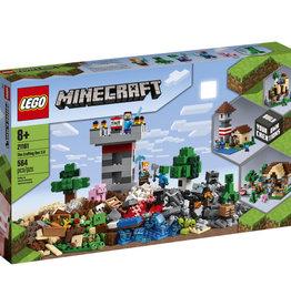 Lego Minecraft 21161 La boîte d'artisanat 3.0