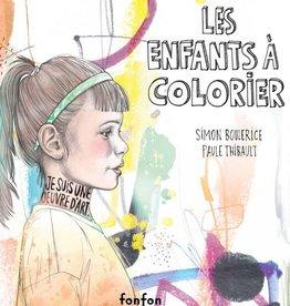 FONFON Les enfants à colorier