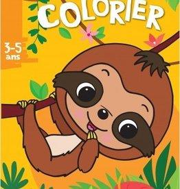 HEMMA J'aime colorier -Paresseux 3-5 ans