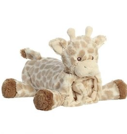 Ebba -Doudou rouleau Loppy la girafe