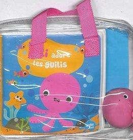 Auzou Lili adore les guilis (livre-bain + jouet)