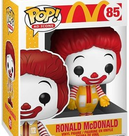 Funko Pop ! Icons Mc Donald's -Ronald Mcdonald
