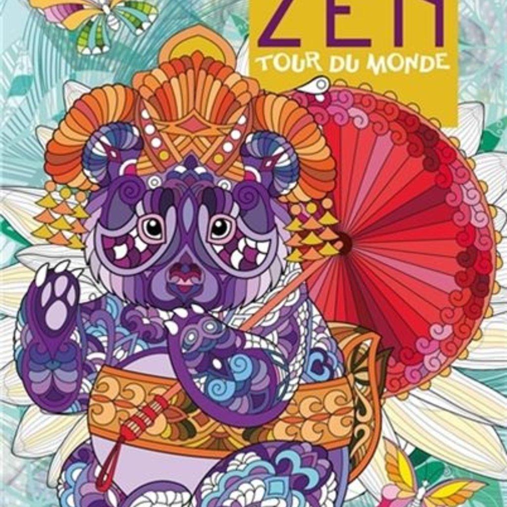 HEMMA Color Zen - Tour du monde