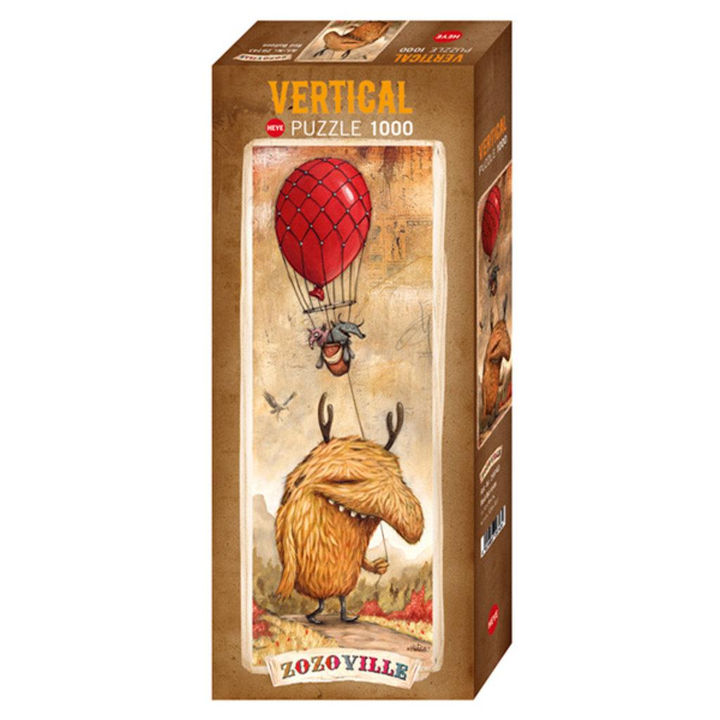 Heye Ballon rouge, Zozoville - 1000pcs