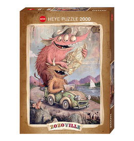 Heye Roadtripping, Zozoville - 2000pcs
