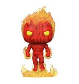 Funko Pop ! Marvel 4 fantastique - Torche humaine