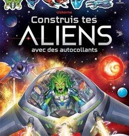USBORNE Construits tes Aliens avec des autocollants