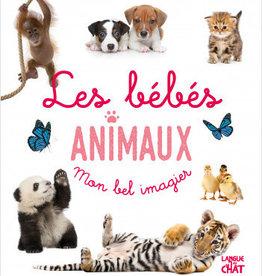 LANGUE AU CHAT Mon bel imagier : Les bébés animaux