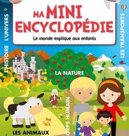 MEGA EDITIONS Ma mini encyclopédie: le monde expliqué aux enfants