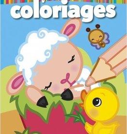 HEMMA Mon premier bloc de Coloriage : Le Mouton