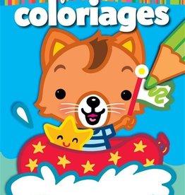 HEMMA Mon premier bloc de Coloriage : Chat