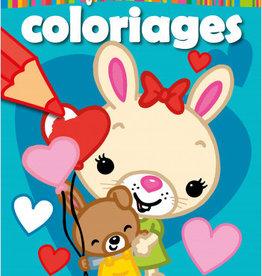 HEMMA Mon premier bloc de coloriages : Lapin