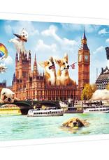 Trefl Chiens à Londres - 1000pcs
