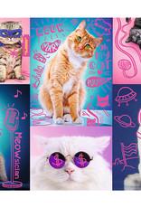 Trefl Super Chats (Néon) - 1000pcs