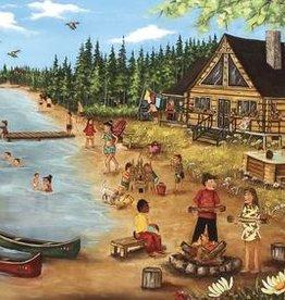 Trefl Genest - L'été au chalet de bois rond - 1000pcs