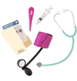 """Our Generation - Mini accessoires Retro """"Healthy Check-Up"""""""