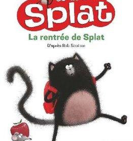 NATHAN Je lis avec Splat - La rentrée de Splat