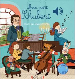 GRUND Livre sonore :   Mon petit Schubert livre sonore