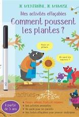 USBORNE Comment poussent les plantes ?