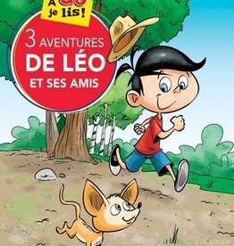DOMINIQUE & CIE À go je lis ! 3 aventures de Léo et ses amis