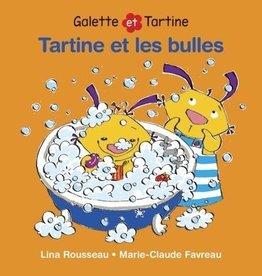 DOMINIQUE & CIE Tartine et les bulles: livre de bain