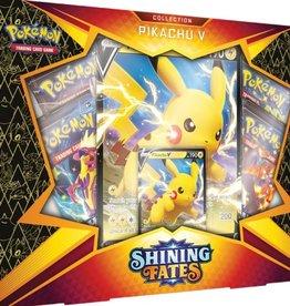 The Pokemon Company Coffret Shining Fates : Pikachu V Collection