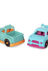 B.Toys - Happy Cruisers 4 Mini véhicules