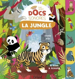 GRUND Mes baby Docs sonores : La jungle