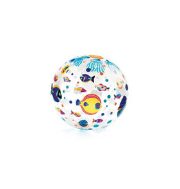 Djeco - Ballon gonflable fishes ball 35 cm