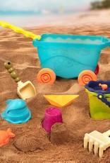 B.Summer - Chariot de plage Bleu clair