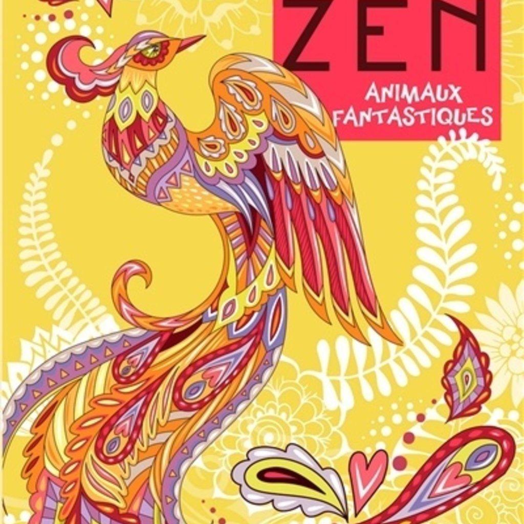 HEMMA Color zen : Animaux fantastiques