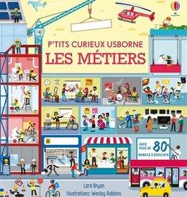 USBORNE P'tits curieux : Les métiers