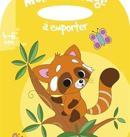 HEMMA Mon coloriage à emporter : Le renard 4-6 ans