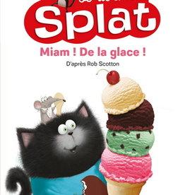 NATHAN Je lis avec Splat :Miam! De la crème glacée !