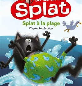 NATHAN Je lis avec Splat - Splat à la plage